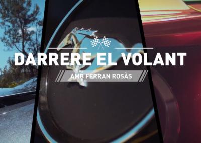 Darrere el volant amb Ferran Rosàs