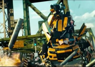 """Sonorització d'una escena de """"Transformers"""""""