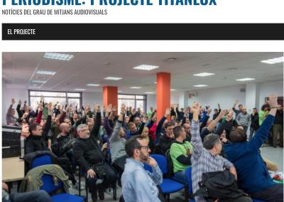 Periodisme: Projecte TitanLux