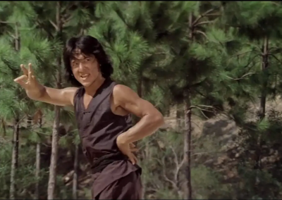 Jackie Chan's use of Space and Choreography